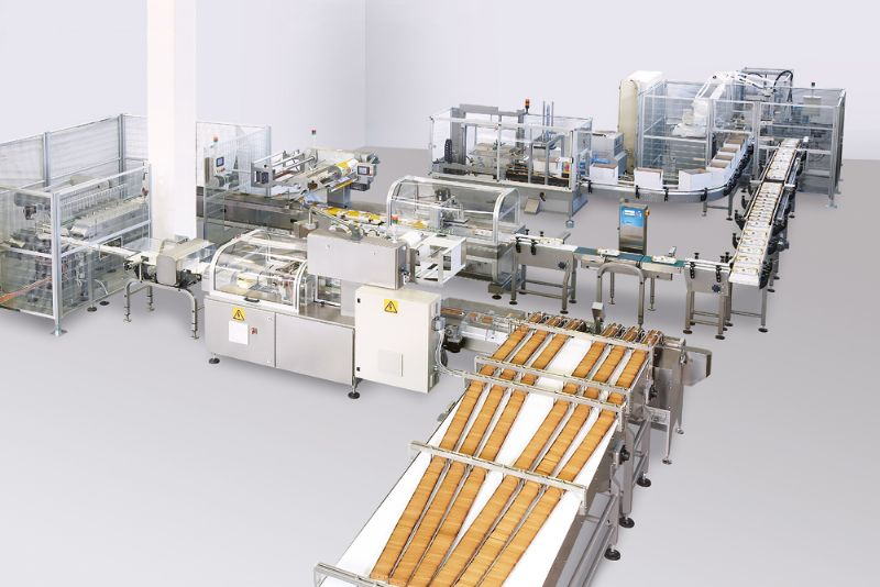 Biscuits On-Pile Packaging Line