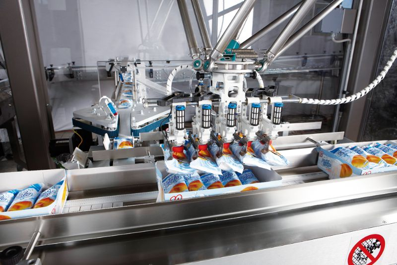 Carton Trays Filling Robot