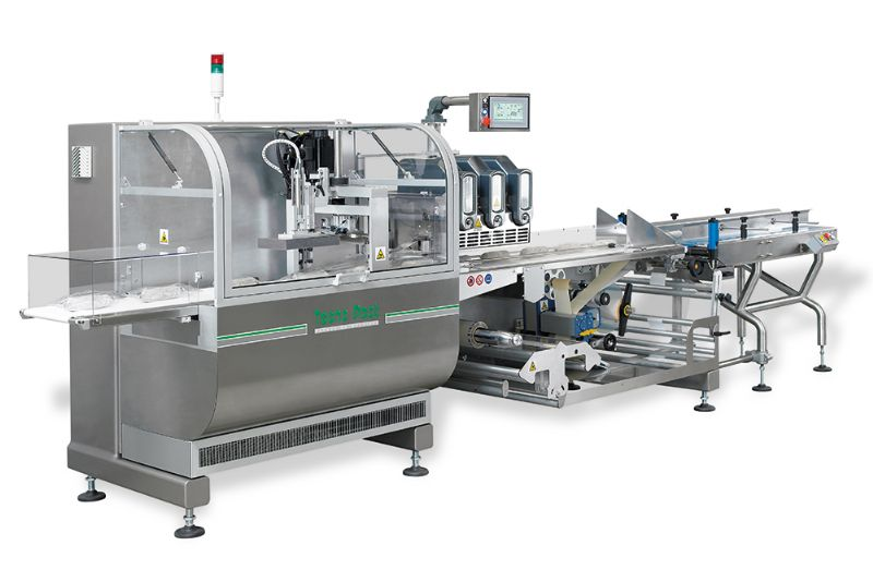 Horizontal Wrapper FP026 for cold cuts packaging