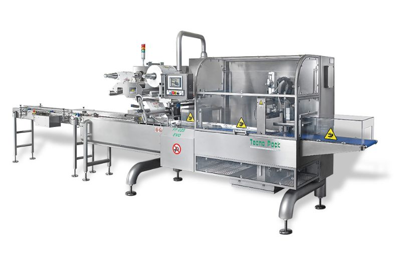 Cheese packaging line