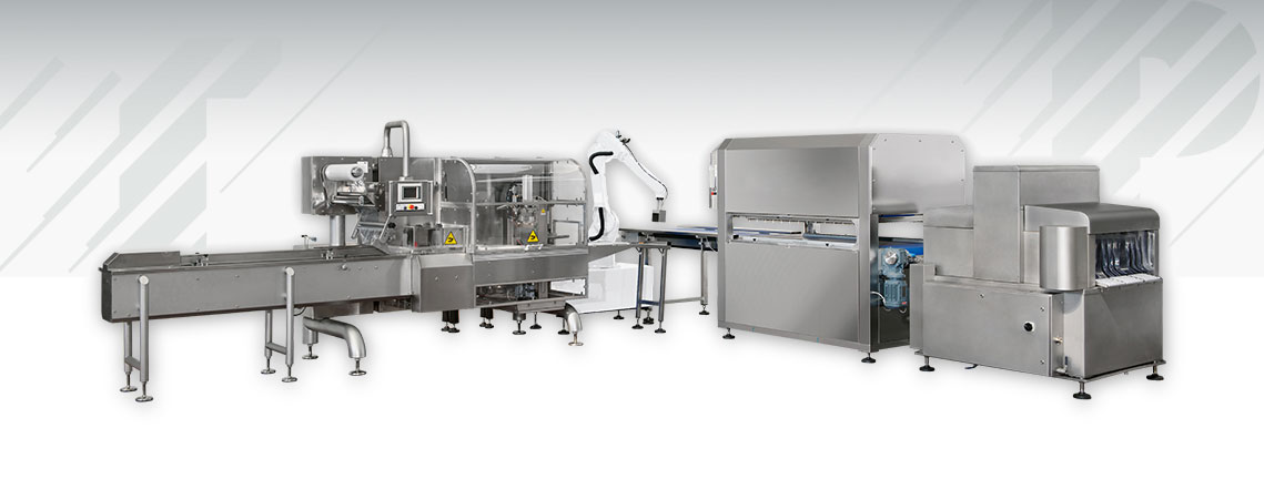 Automatic Vacuum Packing Line