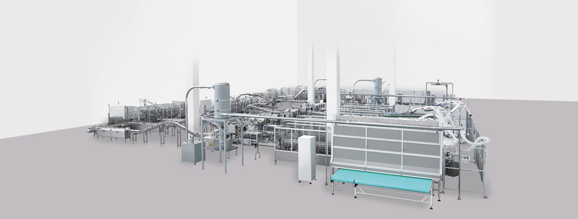 Rusks Packaging Line